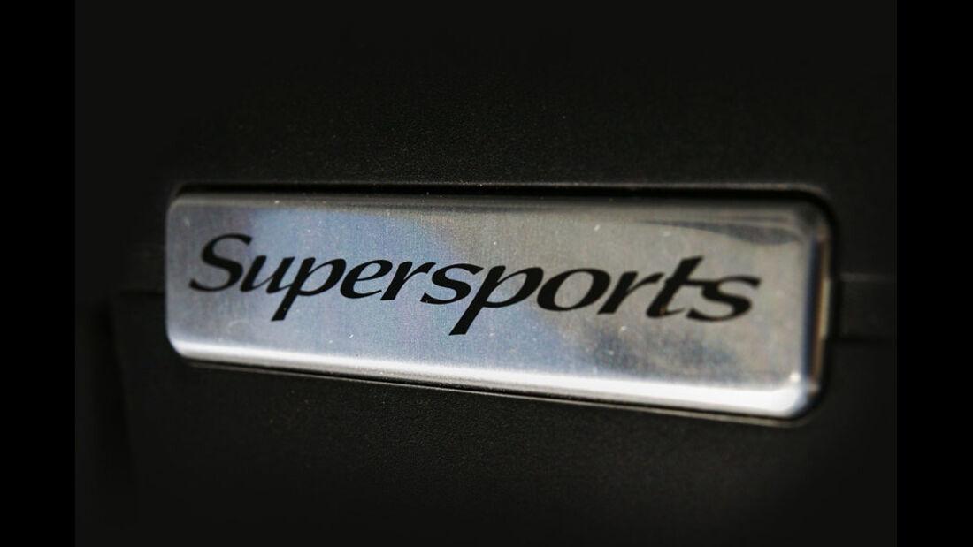 Bentley Continental Supersports Convertible, Modellbezeichnung