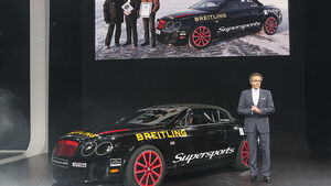 Bentley Continental Supersports Convertible Rekordauto, Wolfgang Dürrheimer, Genf
