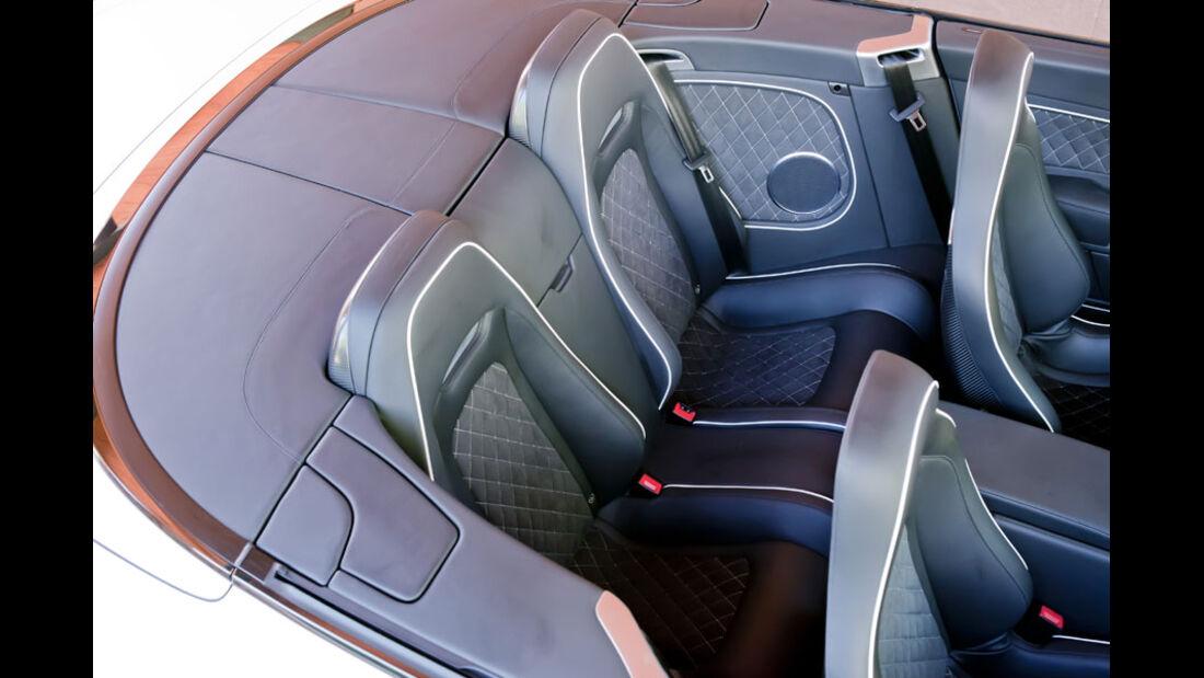 Bentley Continental Supersports Convertible, Rückbank