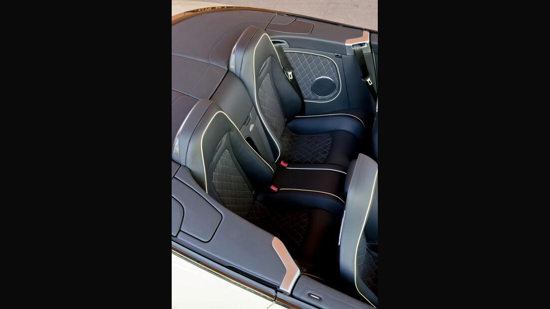 Bentley Continental Supersports Convertible Rücksitzbank