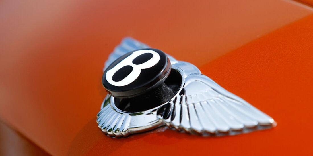 Bentley Continental Supersports, Emblem, Kühlerfigur