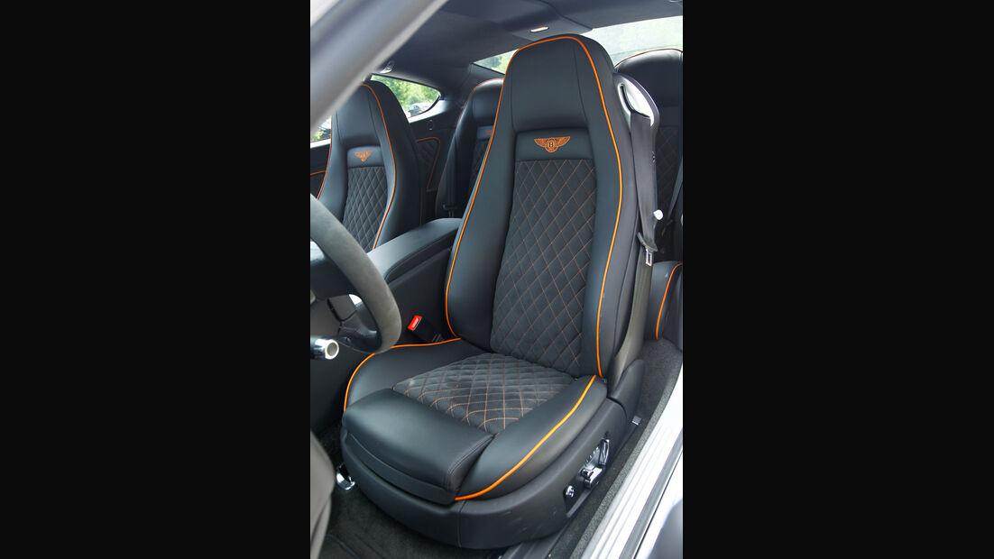 Bentley Continental Supersports, Fahrersitz