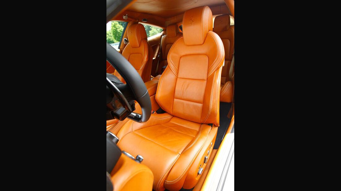 Bentley Continental Supersports, Fahrersitz, Ledersitz