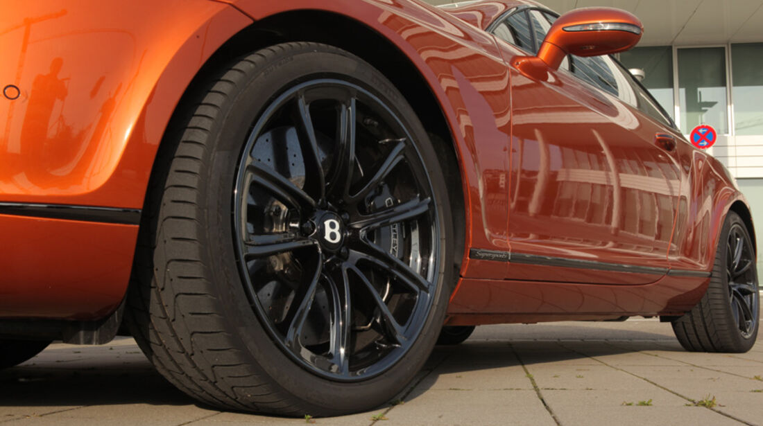 Bentley Continental Supersports, Felge