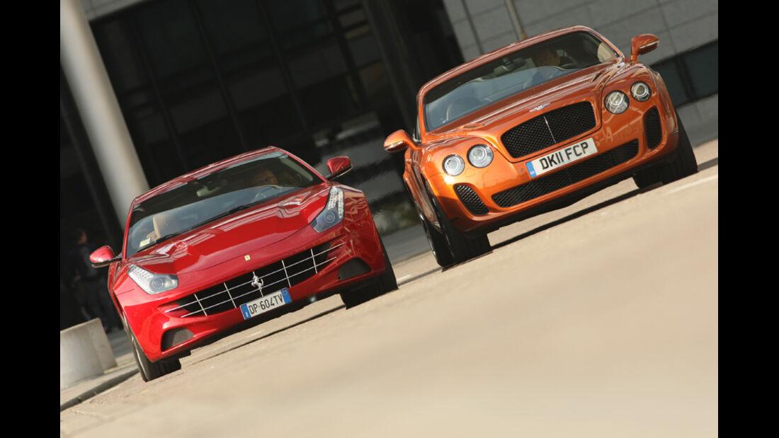 Bentley Continental Supersports, Ferrari FF