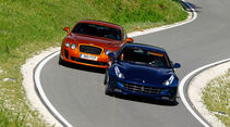 Bentley Continental Supersports, Ferrari FF, Front, Frontansicht