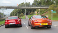 Bentley Continental Supersports, Ferrari FF
