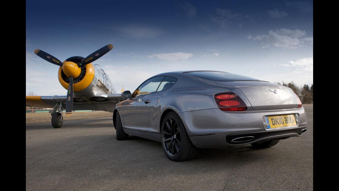 Bentley Continental Supersports, Harvard Mk IV T-6