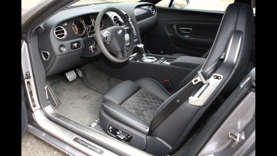 Bentley Continental Supersports Innenraum