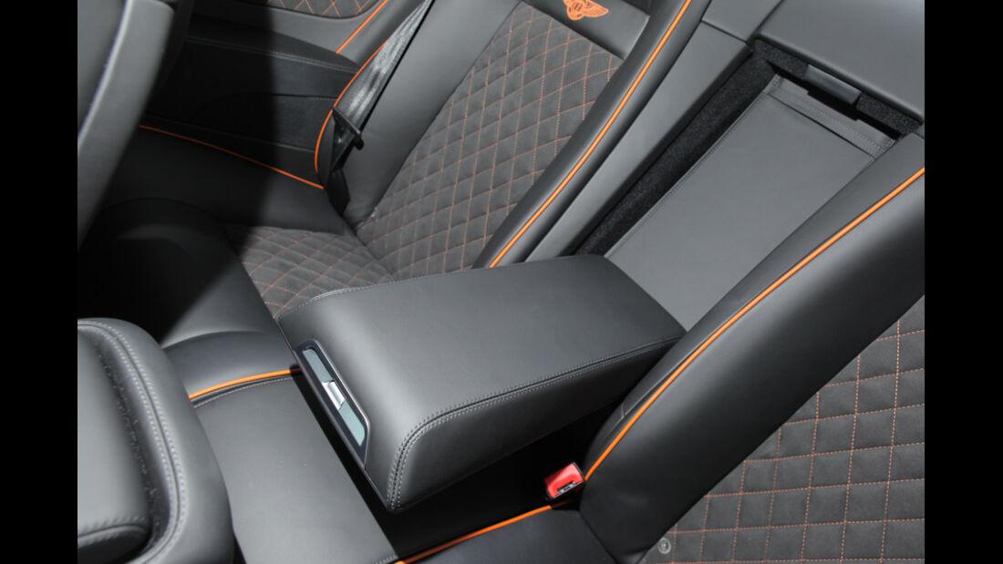 Bentley Continental Supersports, Innenraum, Sitz