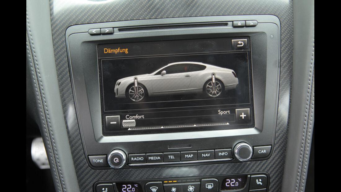 Bentley Continental Supersports, Instrumente