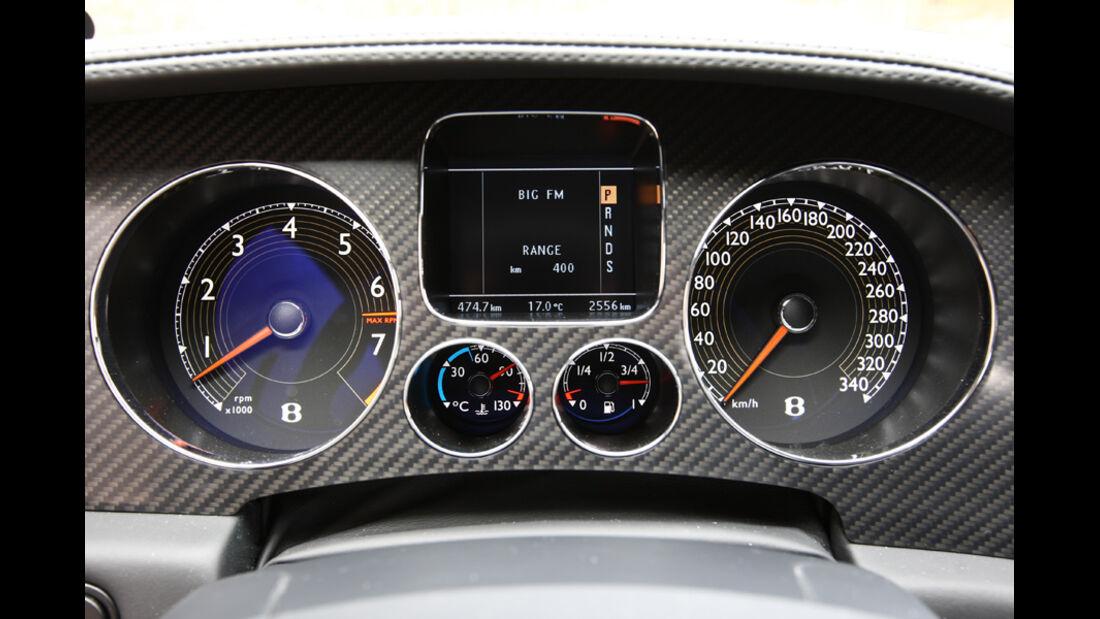 Bentley Continental Supersports Instrumentenbrett