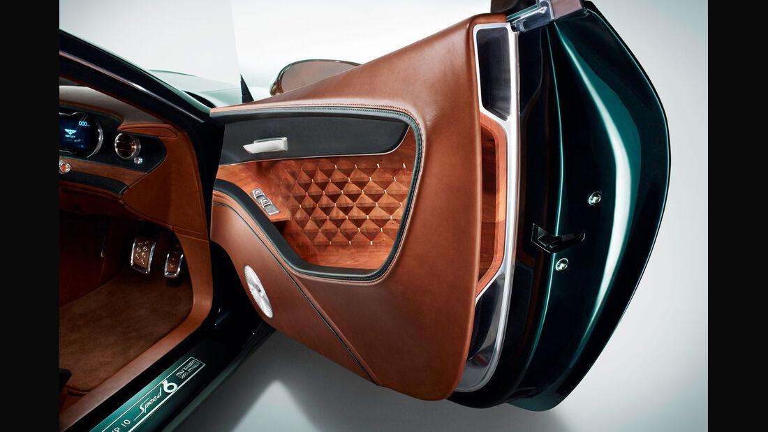 Bentley EXP 10 Speed 6 - Innenraum - Conceptcar - Studie - Sportwagen - 02/15