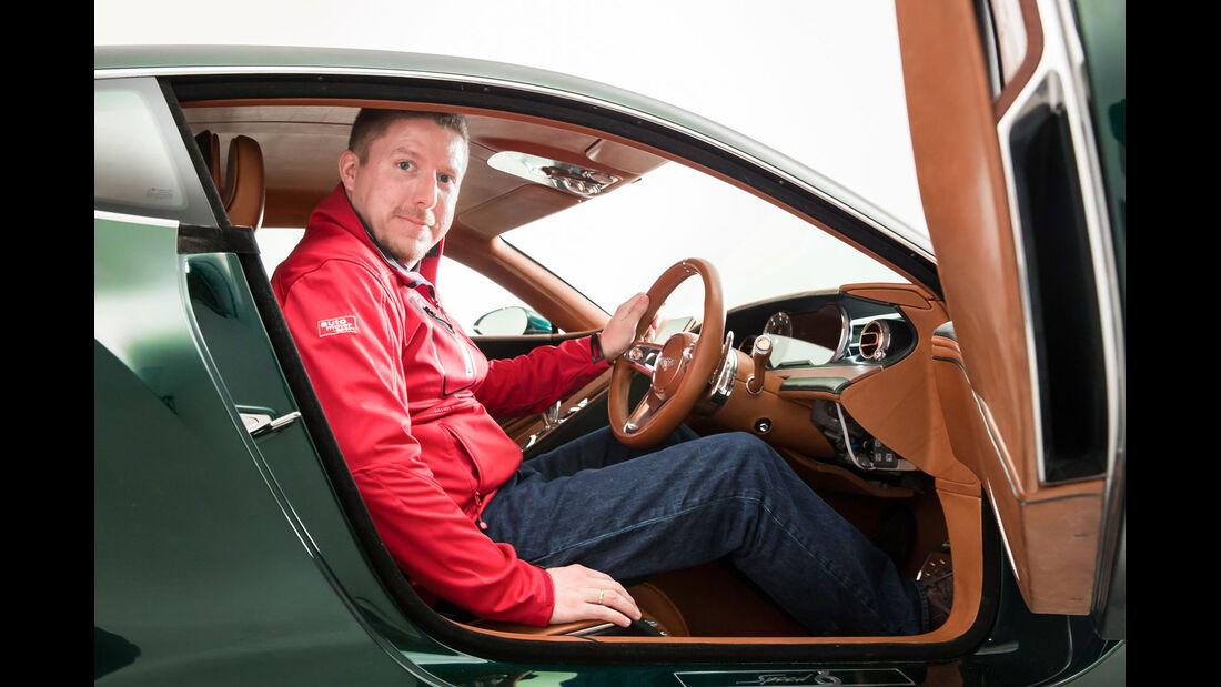 Bentley EXP 10 Speed 6 - Sitzprobe - Conceptcar - Studie - Sportwagen - 02/15