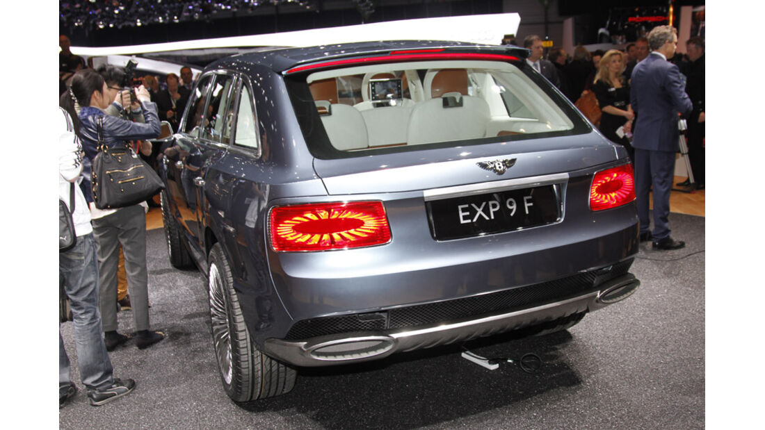 Bentley EXP 9 F Auto-Salon Genf 2012 Heck