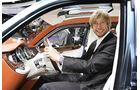 Bentley EXP 9 F Sitzprobe Marcus Peters Genf 2012