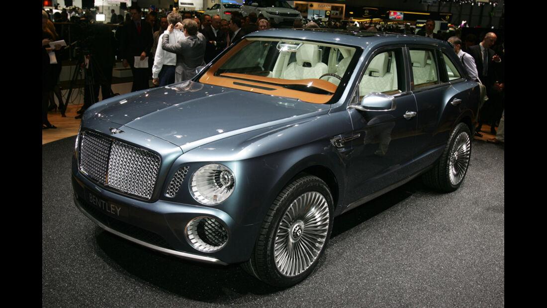 Bentley EXP 9F Genf Studie Concept 2012