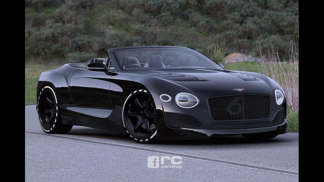 Bentley EXP10 Speed 6 Cabrio - Photoshop