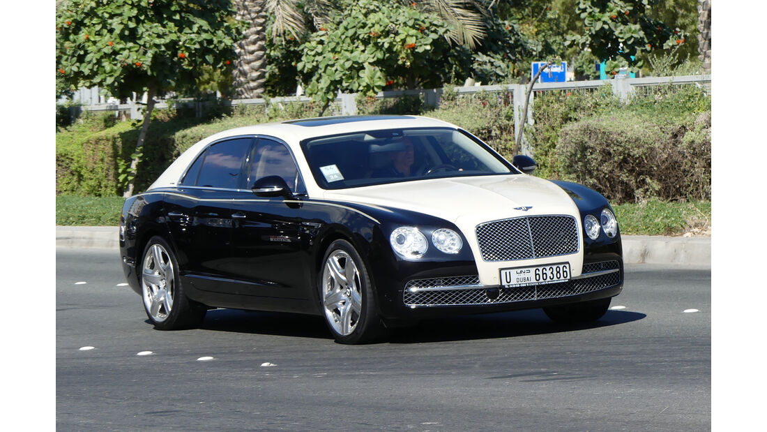 Bentley Flying Spur - Carspotting - Abu Dhabi 2017