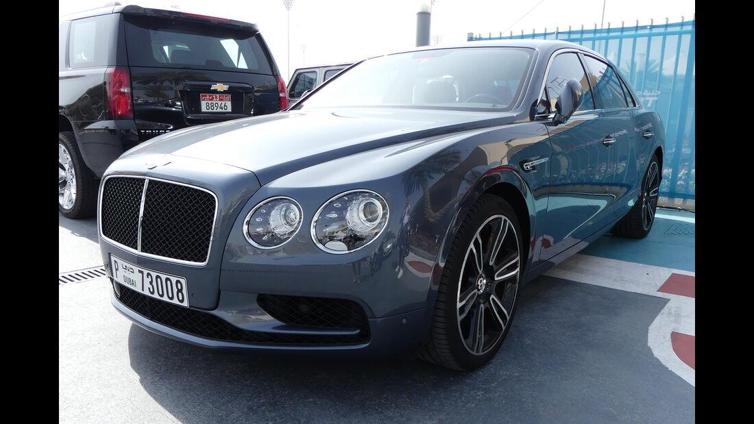 Bentley Flying Spur - Carspotting - GP Abu Dhabi 2018
