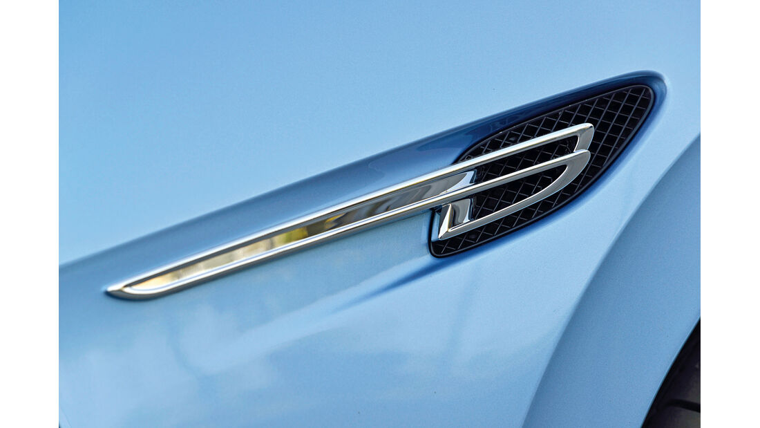 Bentley Flying Spur, Emblem, Kotflügel