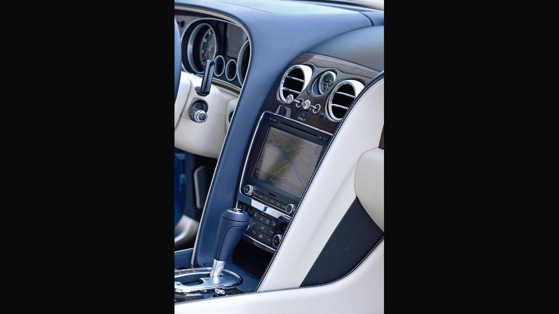 Bentley Flying Spur, Mittelkonsole
