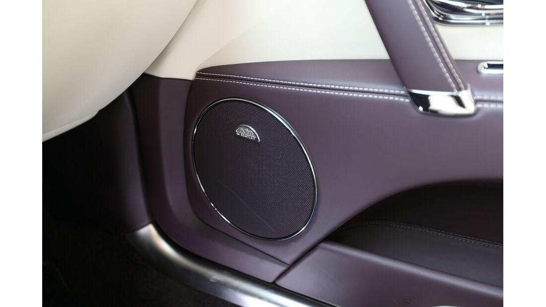 Bentley Flying Spur, Tieftöner