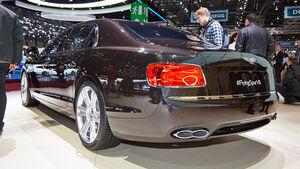Bentley Flying Spur V8, Genfer Autosalon, Messe, 2014