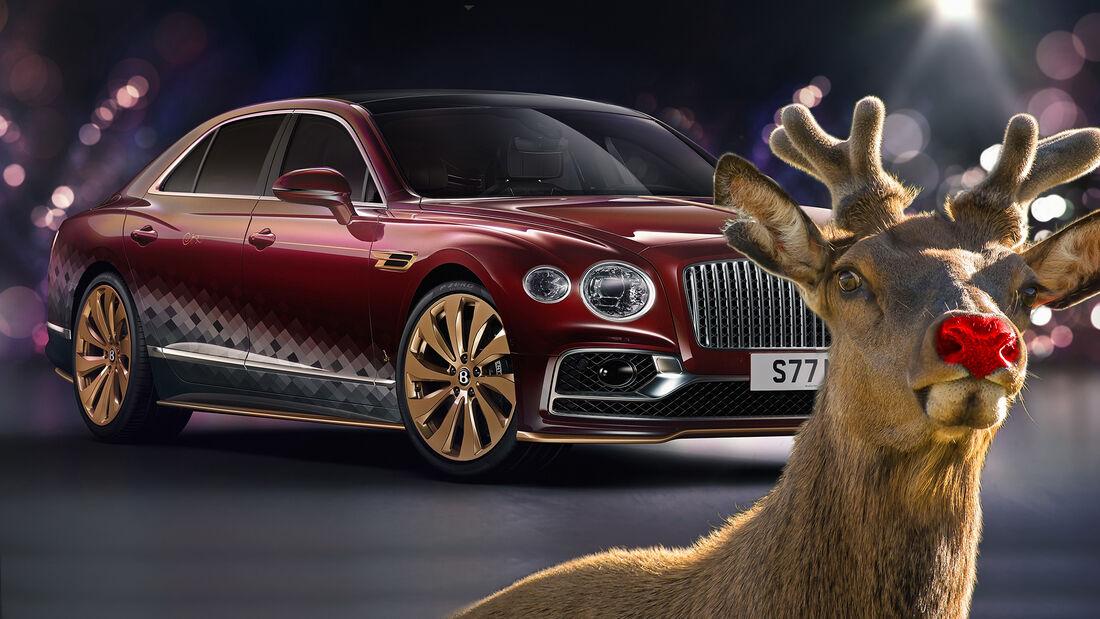 Bentley Flying Spur V8 Reindeer Eight Weihnachten 2020