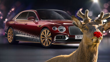 Bentley Flying Spur V8 Reindeer Eight Weihnachten 2020