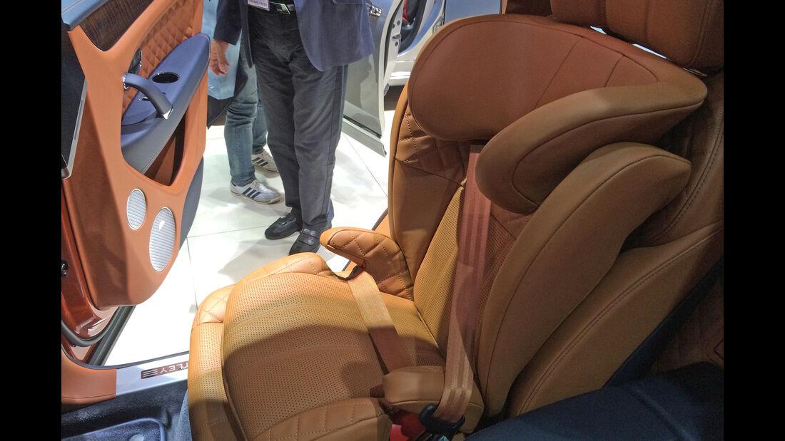 Bentley Kindersitz IAA 2015