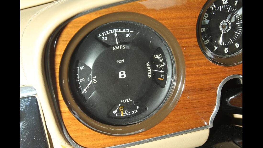 Bentley MK VI Cresta, Rundinstrumente