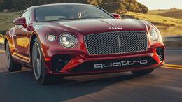 Bentley Marke Wechsel Audi Spekulation Continental Audi Ringe Retusche