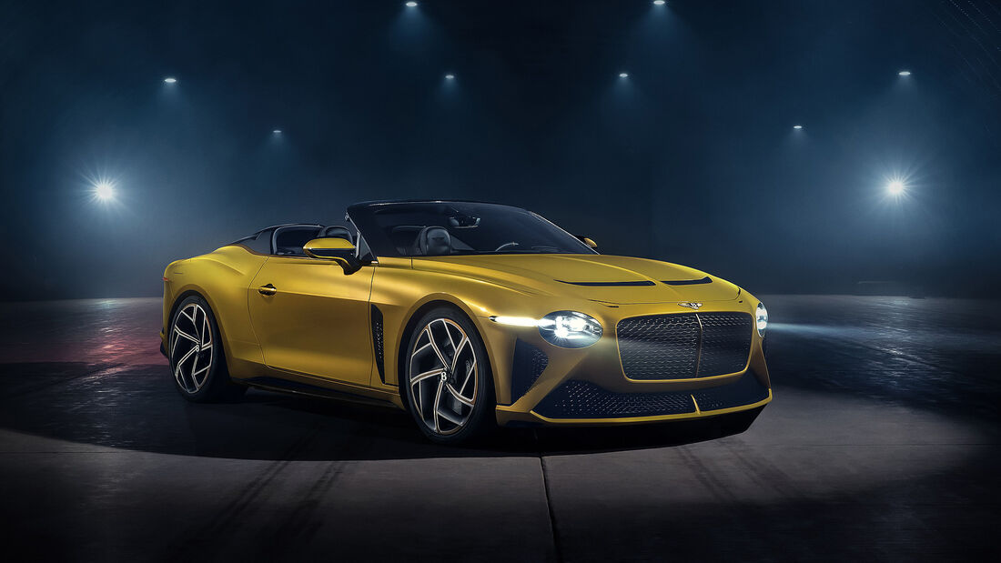 Bentley Mulliner Bacalar, Designstudie, 2020