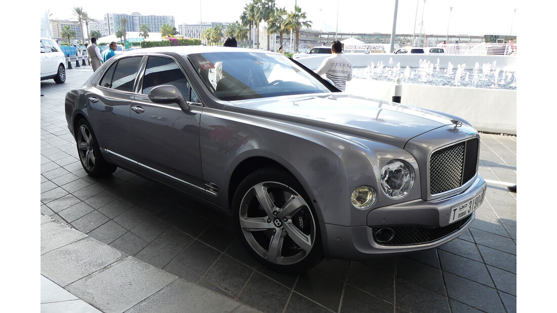 Bentley Mulsanne - Carspotting - Abu Dhabi 2017