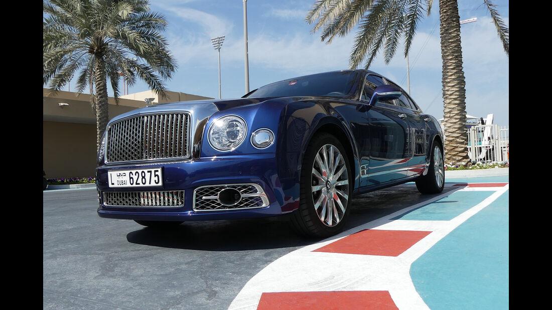 Bentley Mulsanne - Carspotting - GP Abu Dhabi 2018