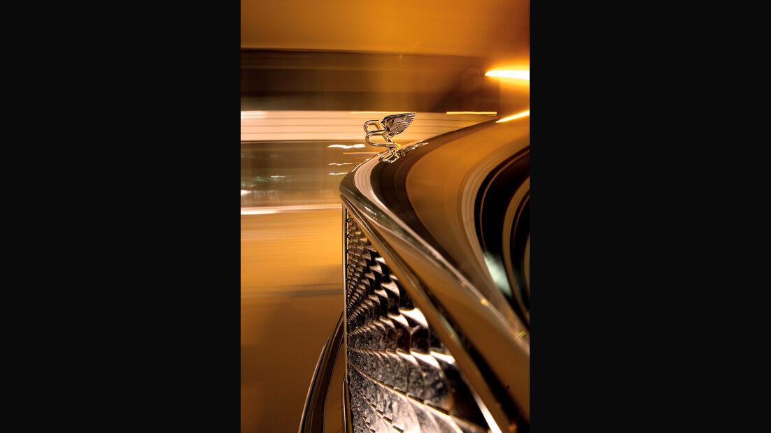 Bentley Mulsanne, Detail, Kühlerfigur, Front