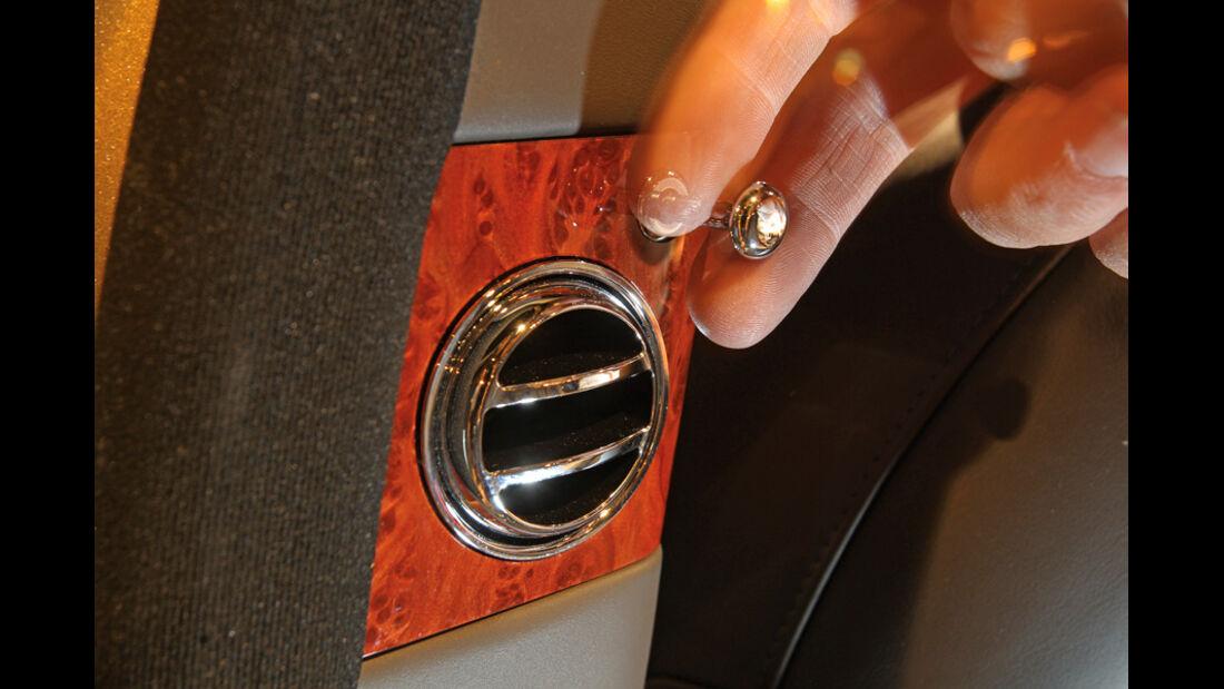 Bentley Mulsanne, Detail, Luftausströmer