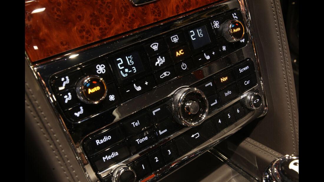 Bentley Mulsanne, Detail, Technik