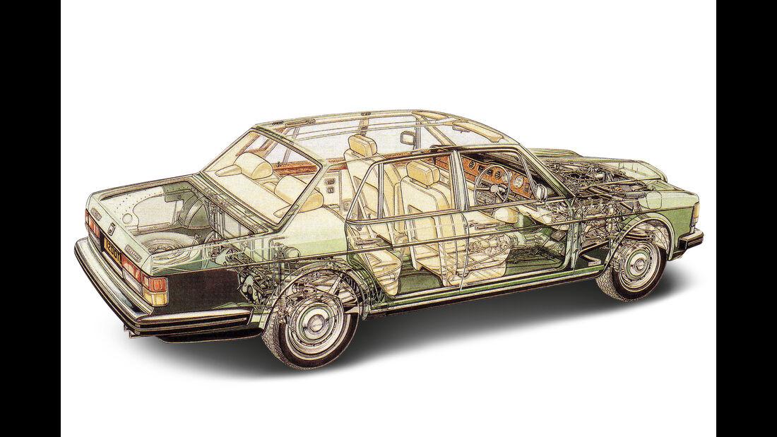 Bentley Mulsanne, Durchsicht