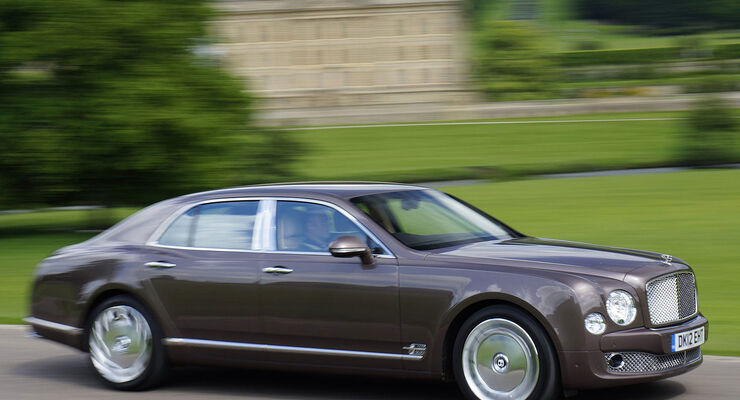 Bentley Mulsanne Genf 2013