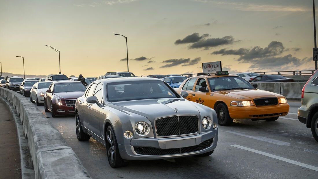 Bentley Mulsanne Speed, Impression, Miami
