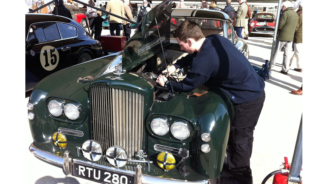 """Bentley R-Type """"Gooda"""" Special von 1954"""