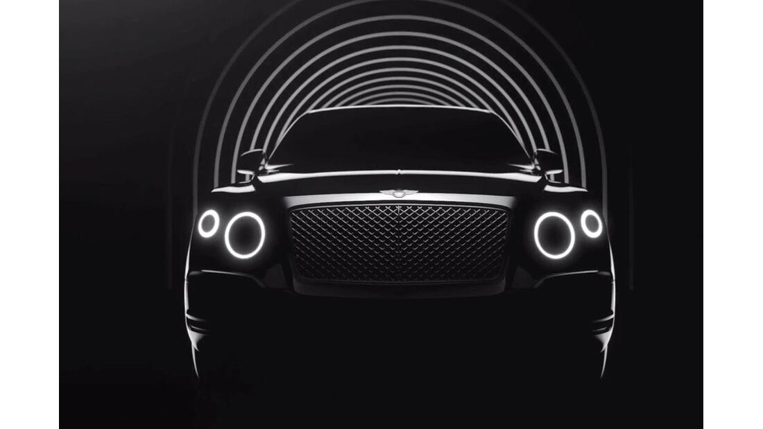 Bentley SUV Screenshoot Teaser