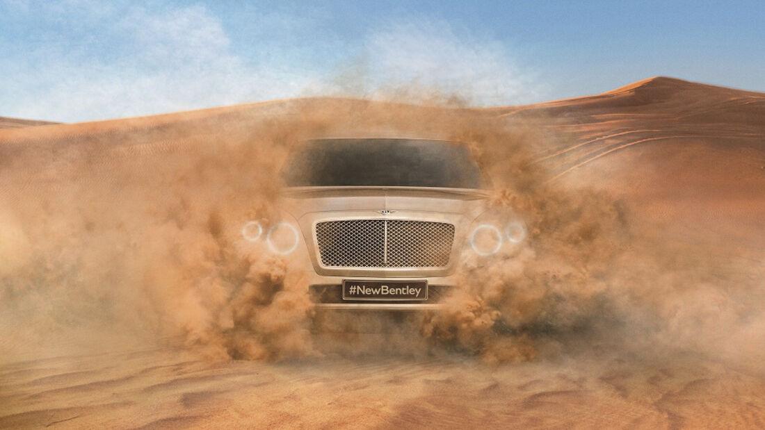 Bentley SUV Teaser