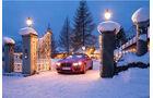 Bentley Schnee Weihnachten
