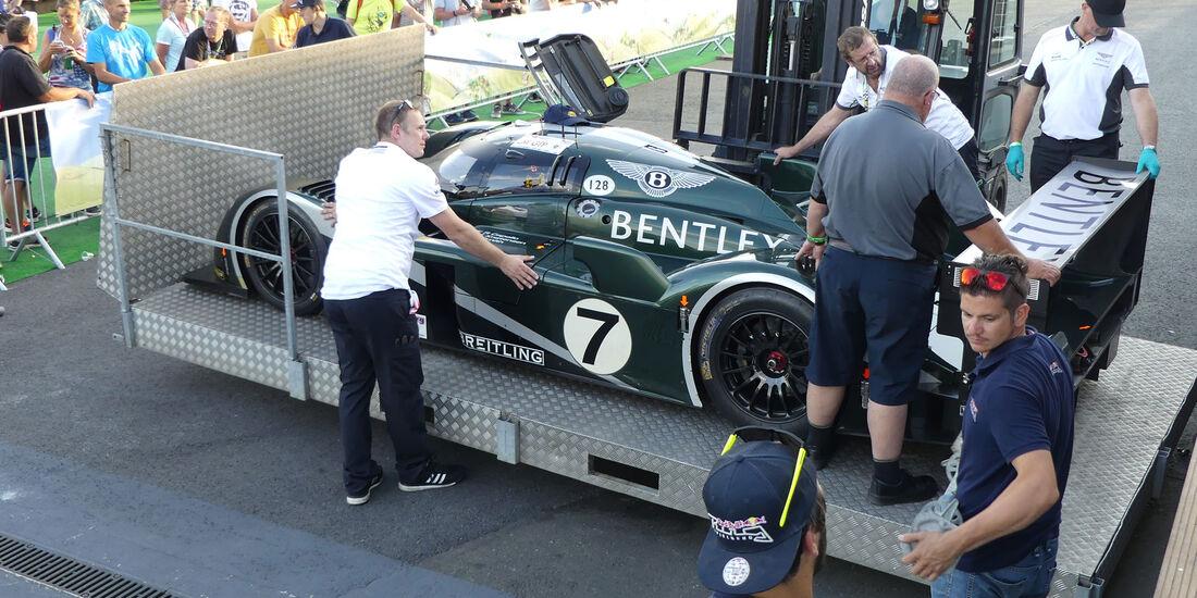 Bentley Speed 8 - Legendenparade - GP Österreich 2017 - Spielberg