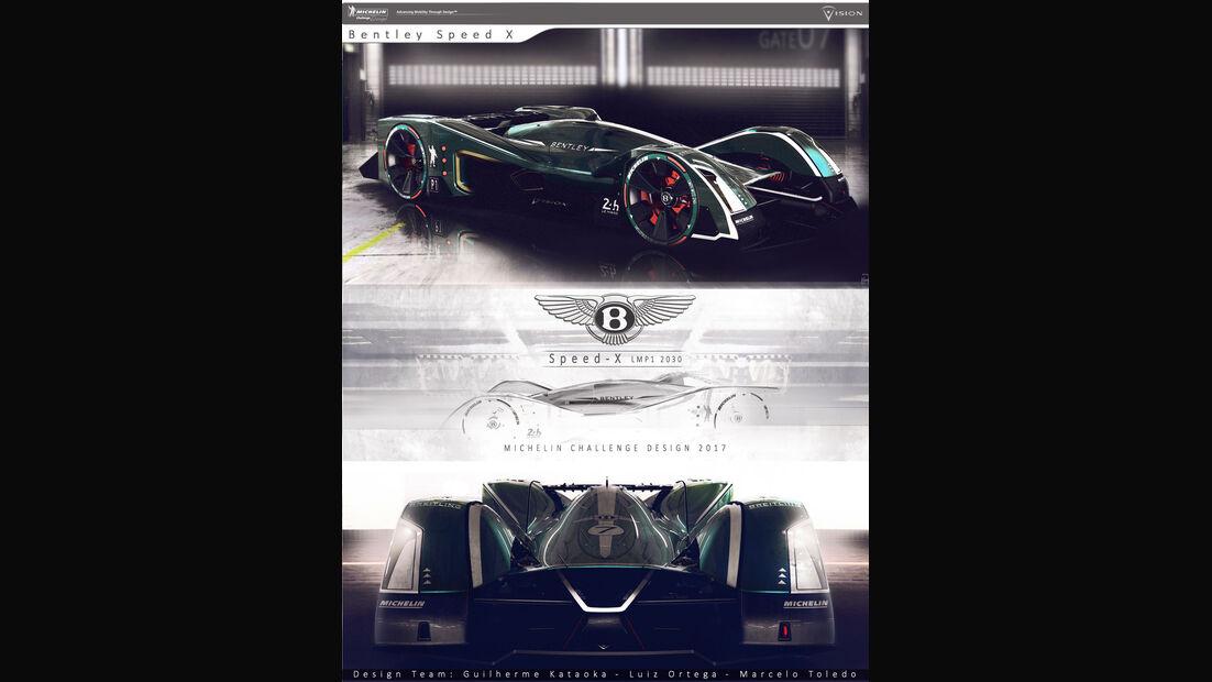 Bentley Speed X - Le Mans 2030 - Michelin Challenge Design - Motorsport