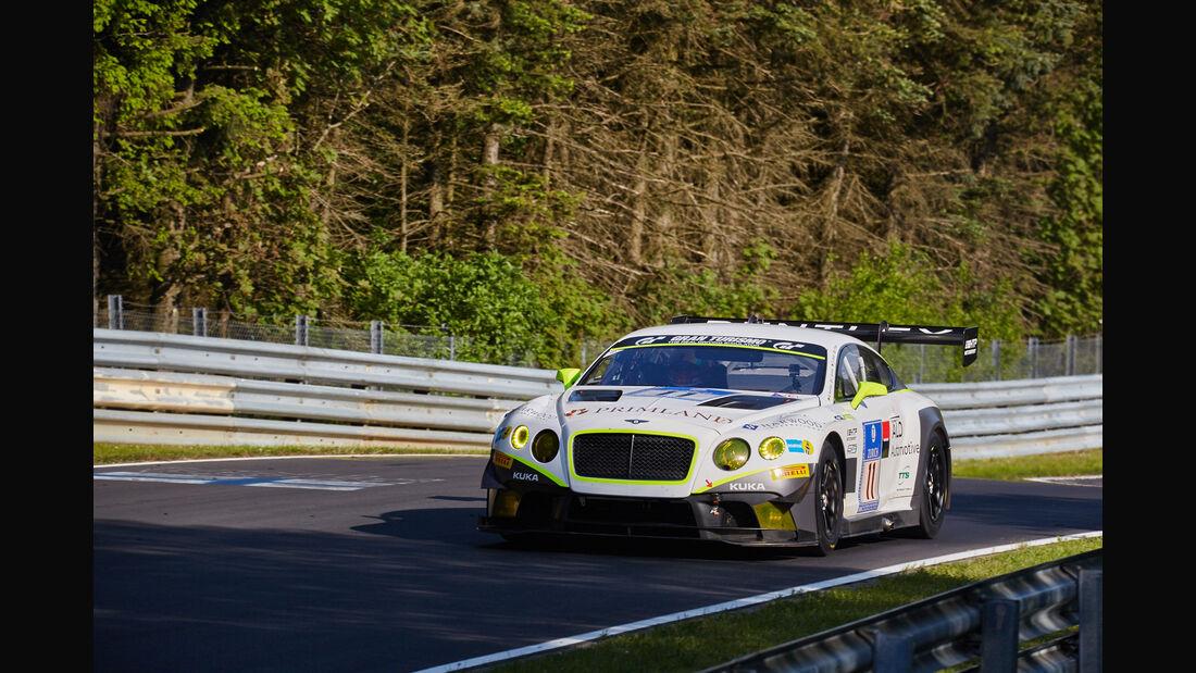 Bentley Team HTP - Bentley Continental GT3 - #11 - 24h-Rennen Nürburgring 2015 - Top-30-Qualifying