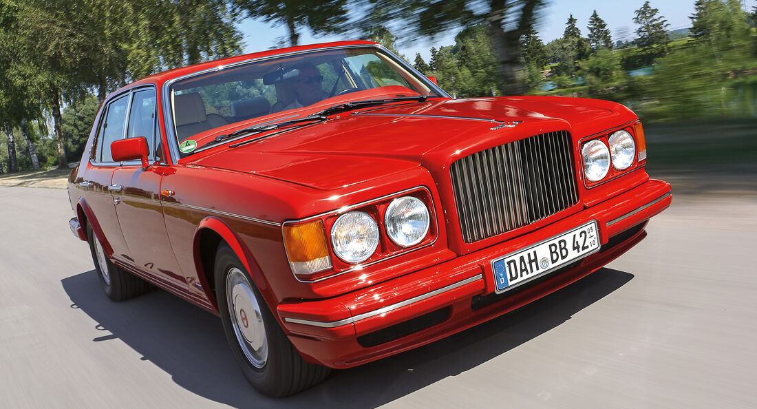 Bentley Turbo R, Frontansicht